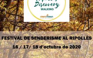 Masregort Allotjament rural - Festival de senderisme al Ripollès 16-18 Octubre 2020